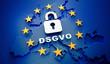 Leinwanddruck Bild - DSGVO - Europa