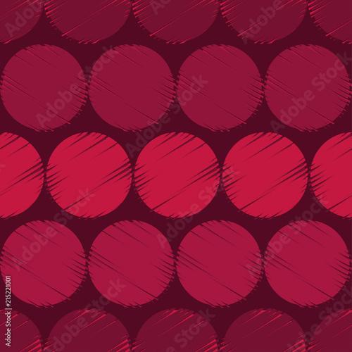 Fototapety Geometryczne   czerwone-kola-geometrii