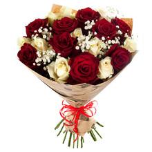 Two Color Roses Bouquet