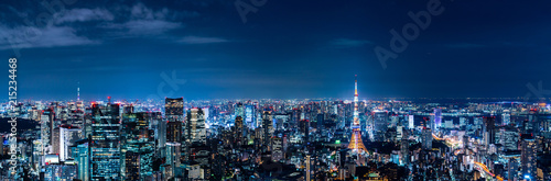 Canvas Prints City building 東京の夜景