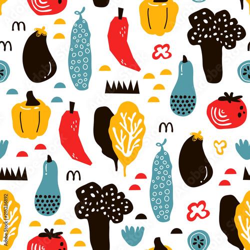 wektor-bezszwowe-tlo-wzory-w-stylu-skandynawskim-kreskowka-slodkie-warzywa-i-elementy-projektowania-tkanin-papier-pakowy-okladki-notebookow