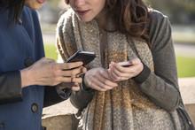 Women Using Smart Phone