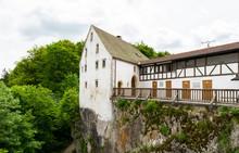DJH Jugendherberge Burg Wildenstein, Youth Hostle Castle Wildenstein YHA, Upper Danube Valley, Tuttlingen, Swabian Alp, Baden.württemberg, Germany
