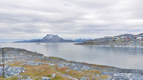 Spoed Foto op Canvas Poolcirkel Greenland. Nuuk Fiord