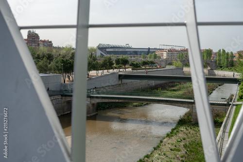 Photo Arganzuela bridge, Madrid, Spain