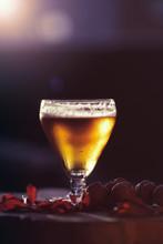 Belgian Tripel Beer In The Las...