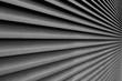 canvas print picture - Jalousie Metall Dekoration Texture
