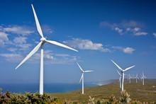 Massive Wind Power Turbines On...