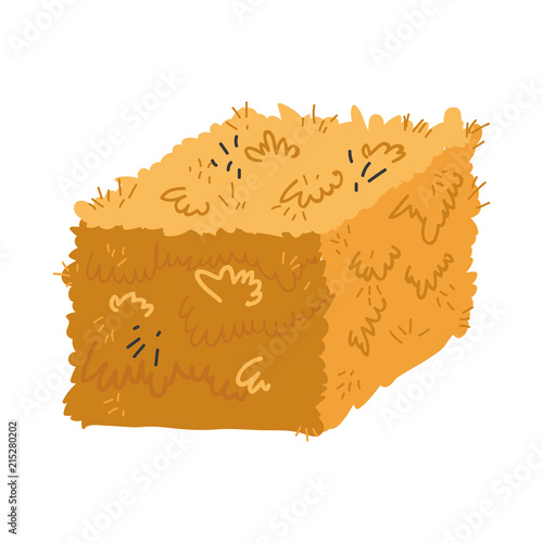 farm straw bale nature agriculture Wallpaper Mural