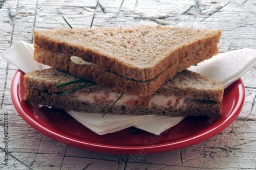 Deurstickers Buffet, Bar Tramezzini טרמצינו Τραμετζίνο Sandwich Tramezzino 트라메치노 Sándwich Snack