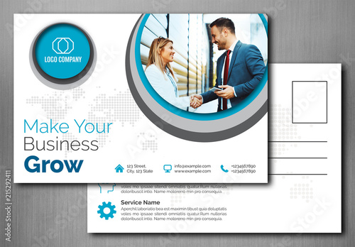 Business postcard layout buy this stock template and explore business postcard layout flashek Gallery