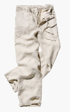 Linen Pants On White Background