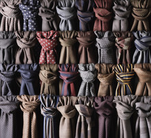 Close-up Of Rows Of Coloured A...