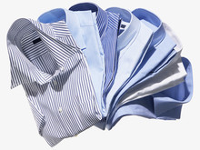 Group Of Blue And Striped Men'...