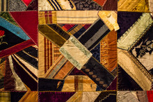 Colorful Old Quilt
