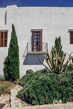 Facade Of A Mediterranean House