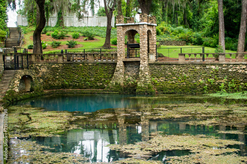 Fotografie, Obraz  Radium Springs with clear blue water