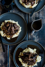 Red Wine Braised Pot Roast Din...