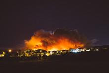 California Wildfire Burns At N...