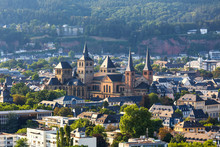 Historic Trier Germany From Above