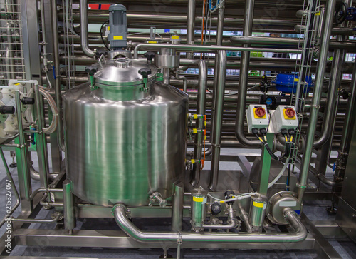Photo  Aseptic processing plant