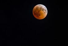 Blood Moon Full Lunar Eclipse Israel