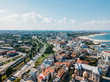 Aerial View Of Constanta City Skyline In Romania