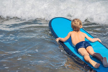 Happy Baby Boy - Young Surfer ...