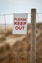 Please Keep Out