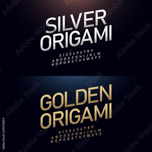 Origami Alphabet (Jo Nakashima) - YouTube   500x500