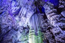 Inside St Michael's Cave, Gibraltar