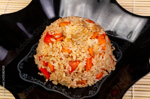 Photo  Delicious tyahan with vegetables
