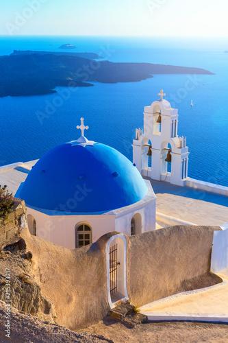 Santorini island, Greece Canvas Print
