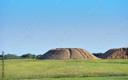 Foto op Aluminium Blauw Hills of South Dakota