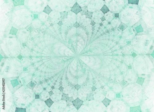 Obrazy turkusowe rozeta-w-turkusie