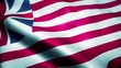 Waving Flag of the United States 1776-1777