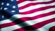 Waving Flag of US Hopkinson