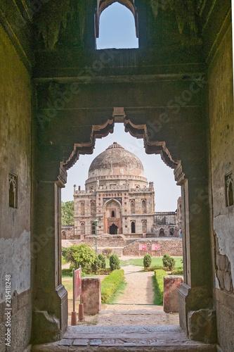 Deurstickers Aziatische Plekken Idien- Delhi- Lohdi Garten