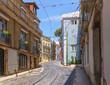 Calcada de Sao Vicente street in Lisbon. Portugal.