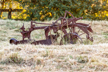Old Abandoned Vintage Plough I...