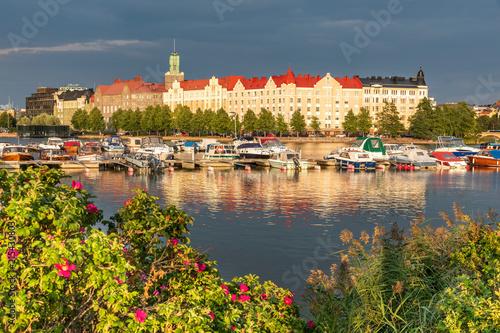 Summer evening in Helsinki, Finland