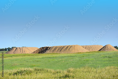 Foto op Aluminium Blauw South Dakota Hills