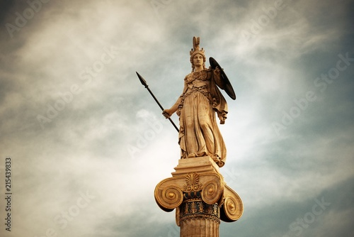 Fotomural Athena statue