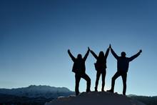 Successful Team Pride ;hardworking People