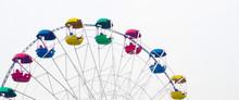 Banner For Website, Ferris Wheel On White