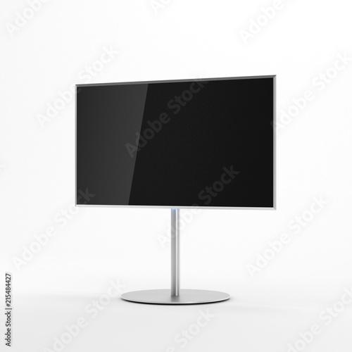 Photo  Smart TV Mockup on metal stand