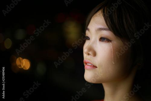 Fotografía  涙を流す女性