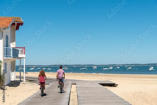 Photo ARCACHON (Bassin d'Arcachon, France), le front de mer