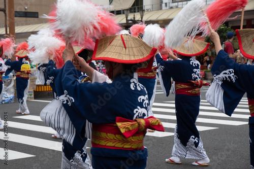 Photo  祭り フェスティバル 5000人総踊りえれこっちゃみやざき 宮崎の夏87