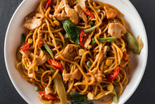 Wok Stir-fry Egg Noodles With ...